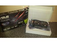 Nvidia gtx 750 ti oc edition(as new condition)