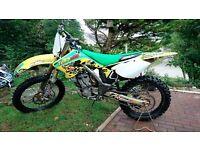 Suzuki RMZ 250 2006 mx motorcross bike not kxf kx ktm yzf yz tm cr crf