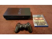 Playstation 2 with Controller & Killzone
