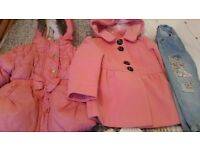 Baby and toddler girls clothes excellent condition