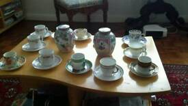 Opening a tea and coffee shop- Lovely old cups and saucers and Ginger jars for use or display!