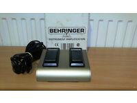 Behringer Footswitch FS112B Ultrabass | foot switch amp amplifier bass dual