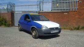 Vauxhall Corsa van.