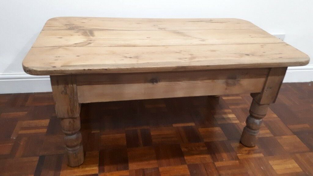 Vintage Pine Coffee Table