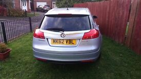 2012 /62 VAUXHALL INSIGNIA ECO FLEX £30 ROAD TAX ! STUNNING!!! FULLY LOADED!!!