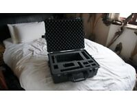 peli case / pelican case hard case 1600 with foam inserts RRP £327.00