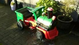 14v ride-on little play train