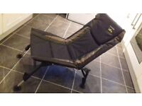 Adjustable carp fishing chair exellent condition