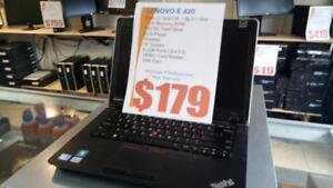 Lenovo E420 - i3 Intel - 4Gb RAM - 160Gb HDD - HDMI - 1 Year Warranty - Works Great - Free Shipping.