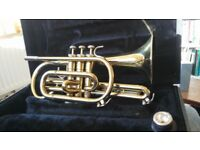 Cornet, excellent condition, Bach. inc carry case