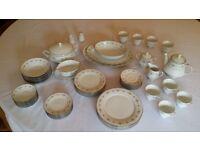 Noritake 56 piece Dinner and Tea porcelain china set