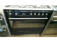 Smeg dual fuel 80cm range cooker black or stainless