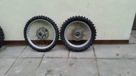 Mx bike wheels