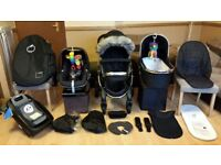 iCandy Peach 3 Pushchair Pram Stroller Travel System Maxi Cosi Pebble Car Seat, Isofix Base & More