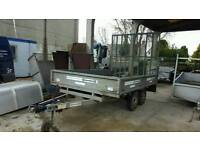2010 indespension 2000kg 10ftx6ft dropside rampTailgate trailer no vat