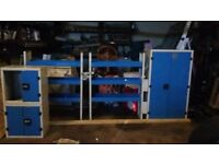 Interior Van Racking for sale - good condition