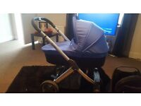 Oyster Pram, Stroller and New Colour Packs