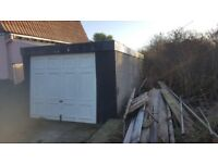 Concrete Garage - free to collect. No Longer Available.
