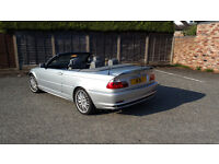 2003 BMW 3 SERIES 318 Ci 1995cc Petrol 5Sp Manual Cabriolet Convertible Private Plate*only 71k miles