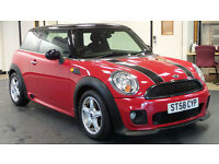 2008 58 MINI HATCH COOPER 1.6 COOPER 3d 118 BHP *PART EX WELCOME*FINANCE AVAILABLE*WARRANTY*