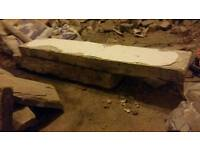 FREE FREE huge pieces of head and sill stone