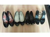 5 x Shoes / Sandals Bundle Size 7