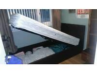 Single storage bed &mattress