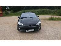 Peugeot 206cc convertible fresh years MOT!