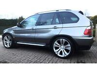 BMW X5 Sport 4.4 V8 - 2005 - PANO ROOF + 22s + SAT NAV + FSH + TRACKER + MORE