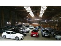 Used Car Sales Forecourt - warehouse for rent - Motor trading suitable