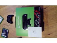 XBOX ONE + 2 games