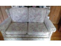 Selling a two seater couch and armchair both very comfortable but need upholstering!!!