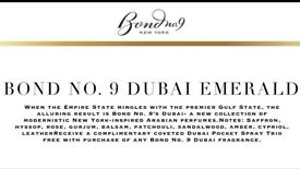 Bond no.9 Dubai Emerald unisex EDP - 100ml BRAND NEW