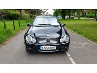 MERCEDES C 220 CDI SE COUPE AUTO DIESEL 56 PLATE 2006 ONE F/KEEPER 146000 MILES FULL SERVICE HISTORY
