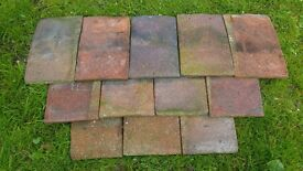 """Handmade Clay Roof Tiles - Used condition - Approx 600 - Size: 10.5"""" x 6.5"""""""