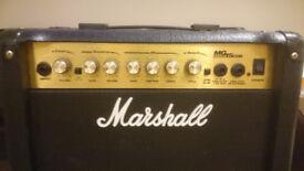--- Marshall MG15CDR Guitar Amp ---