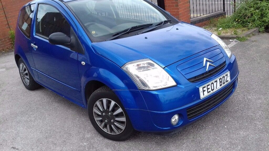 Citroen C2 2007 petrol 1.1 manual very low mileage