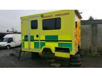 Ambulance body (storage/sprinter/transit/shed)