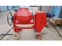 Belle premier xt100 diesel site mixer