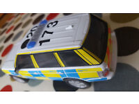 SCALEXTRIC POLICE RANGE ROVER C2808 DPR - GREAT CONDITION - 25.00