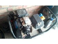 Honda GC160 2.4kw generator 110v 240v