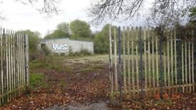 Land To Rent To Let 30,000SQFT Can Split Scaffolding Builder Yard Merchant Metal Containers Storage