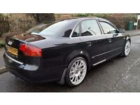 2005 AUDI A4 S LINE 2.0 TDI 140 BHP LOW MILES STUNNING EXAMPLE TIMING BELT,CLUTCH & FLY WHEEL DONE