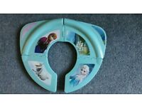 Folding toilet seat- Never used