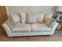 Ashley Manor 4 seat sofa and snuggle chair