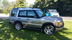 Y reg discovery td5 auto