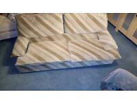 Settee, good sized, 2 seater. Start the New Year of with something new. Free for uplift.