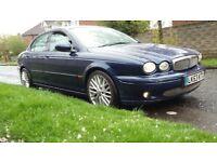 JAGUAR X TYPE 2.5 V6 SPORT 2004 BLUE