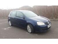 2006(56)VW GOLF 2.0 GT TDi 140BHP MET BLUE,NEW MOT,6 SPEED,CLEAN CAR,GREAT VALUE