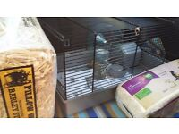 Hamster Cage- Brand New & accessories